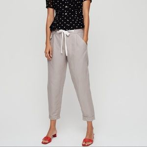 Aritzia Wilfred Allant Pant with Linen — Size 0